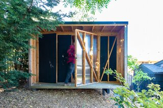 Budget Breakdown: A Seattle Architect Crafts a Hardworking Shed for Just Over $2,200