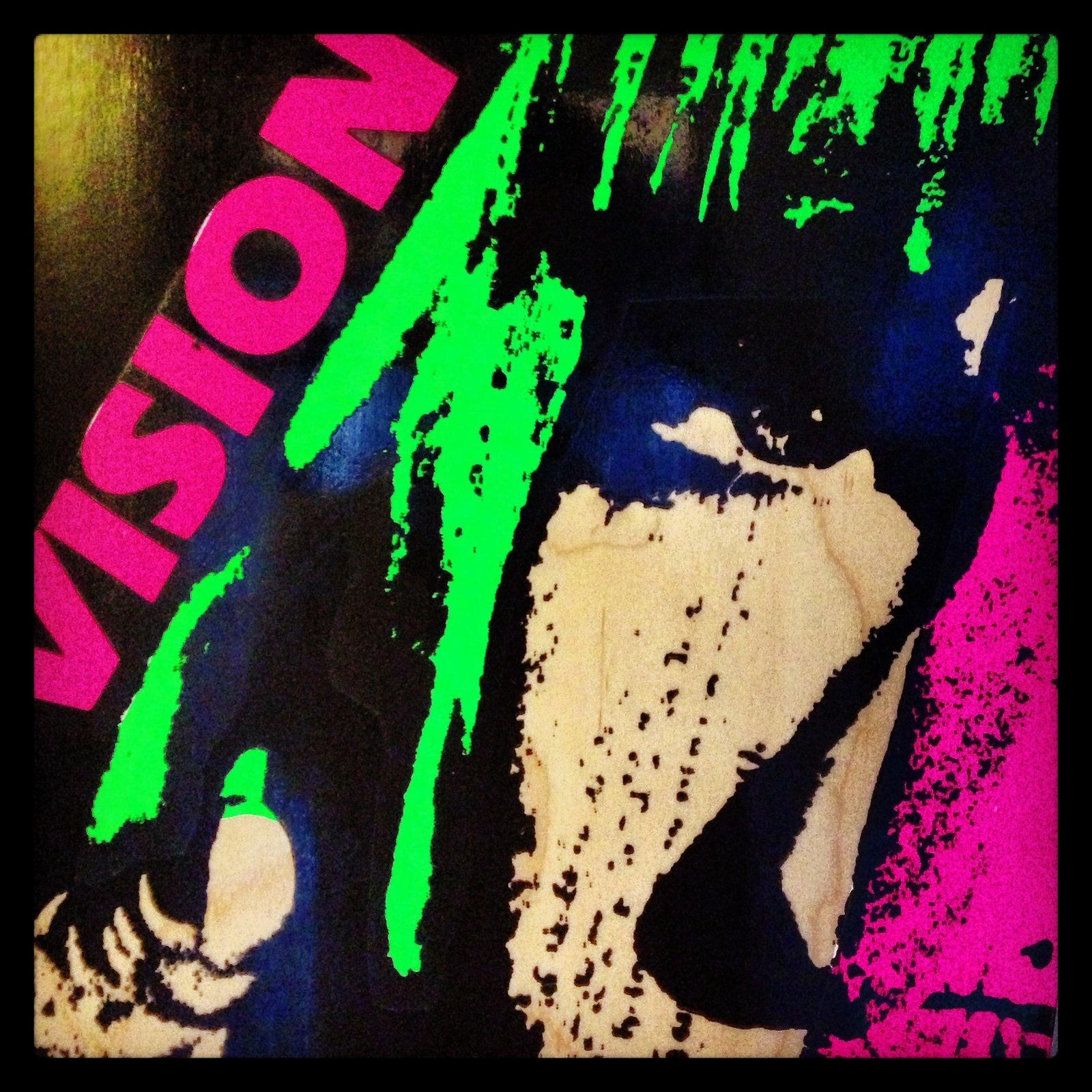 Vision Skates' Aggressor in natural wood. #skateboard #skat  Modern Skate