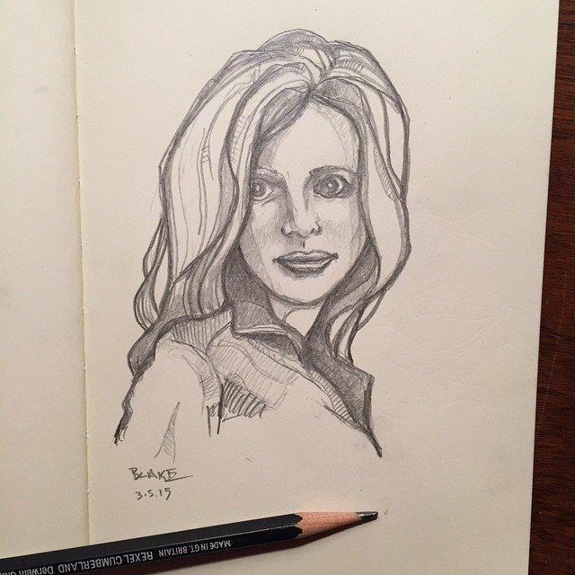 fancy pencil #molskine #sketch   Sketchbook