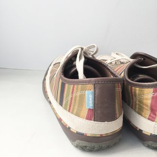 Dwell made shoes, once.