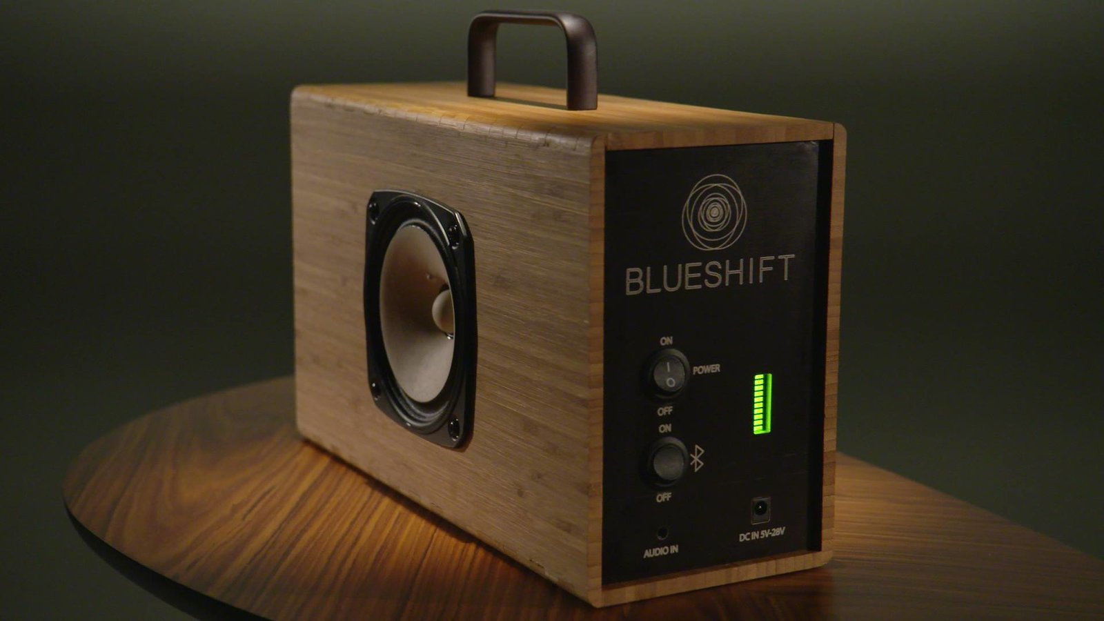 "Blueshift portable speaker. ""Blueshift speakers charge in five minutes. Simple, beautiful devices - built to last in Portland, Oregon."" https://www.crowdsupply.com/blueshift/hydrogen-next-generation-supercapacitor-powered-portable-speaker  https://www.facebook.com/BlueshiftPDX  Sound Style"