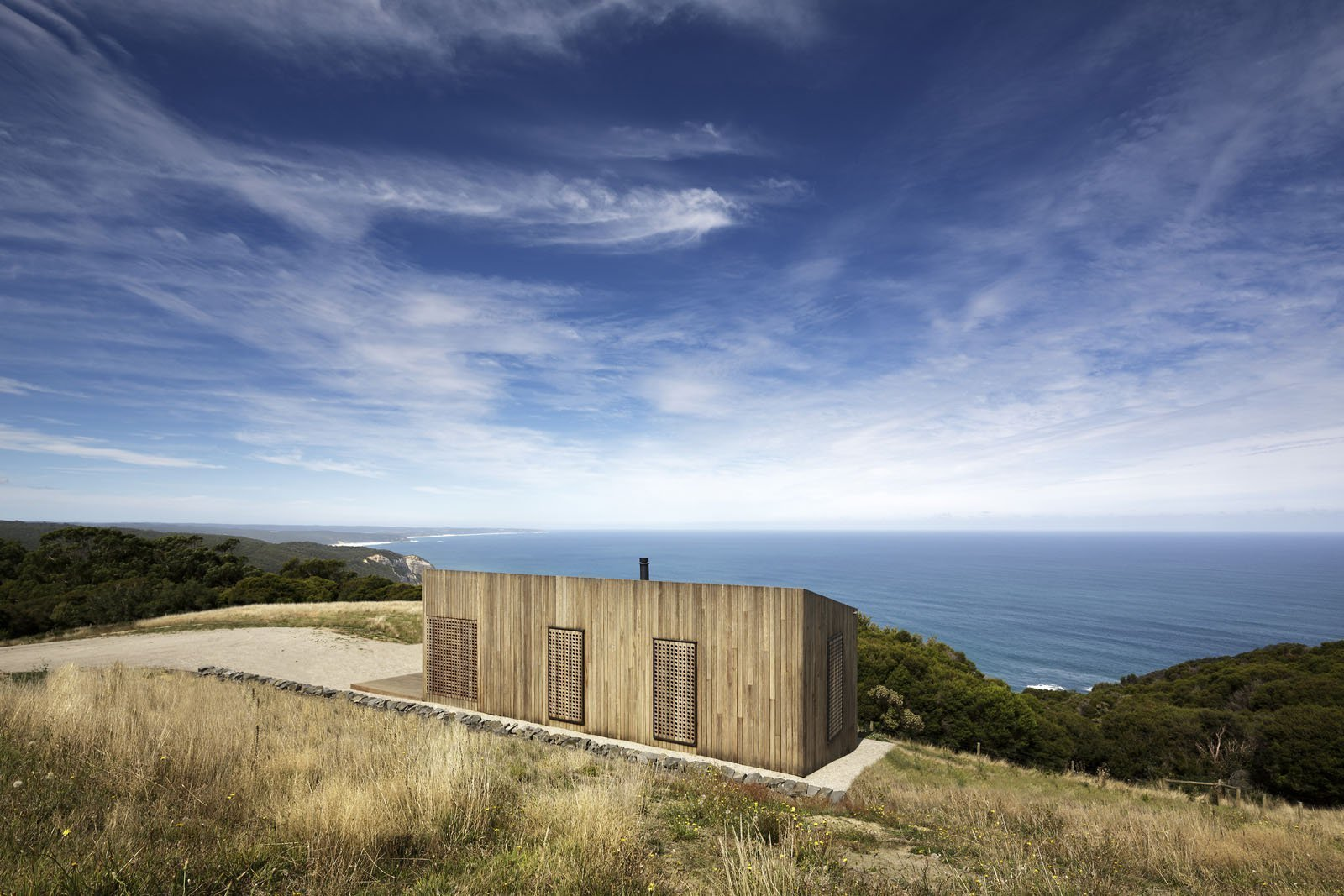 Moonlight Cabin in Western Victoria, by JCB Architects.  Photo: Jeremy Weihrauch, Gollings Studio http://www.jcba.com.au/projects/moonlight-cabin  Cabins & Hideouts