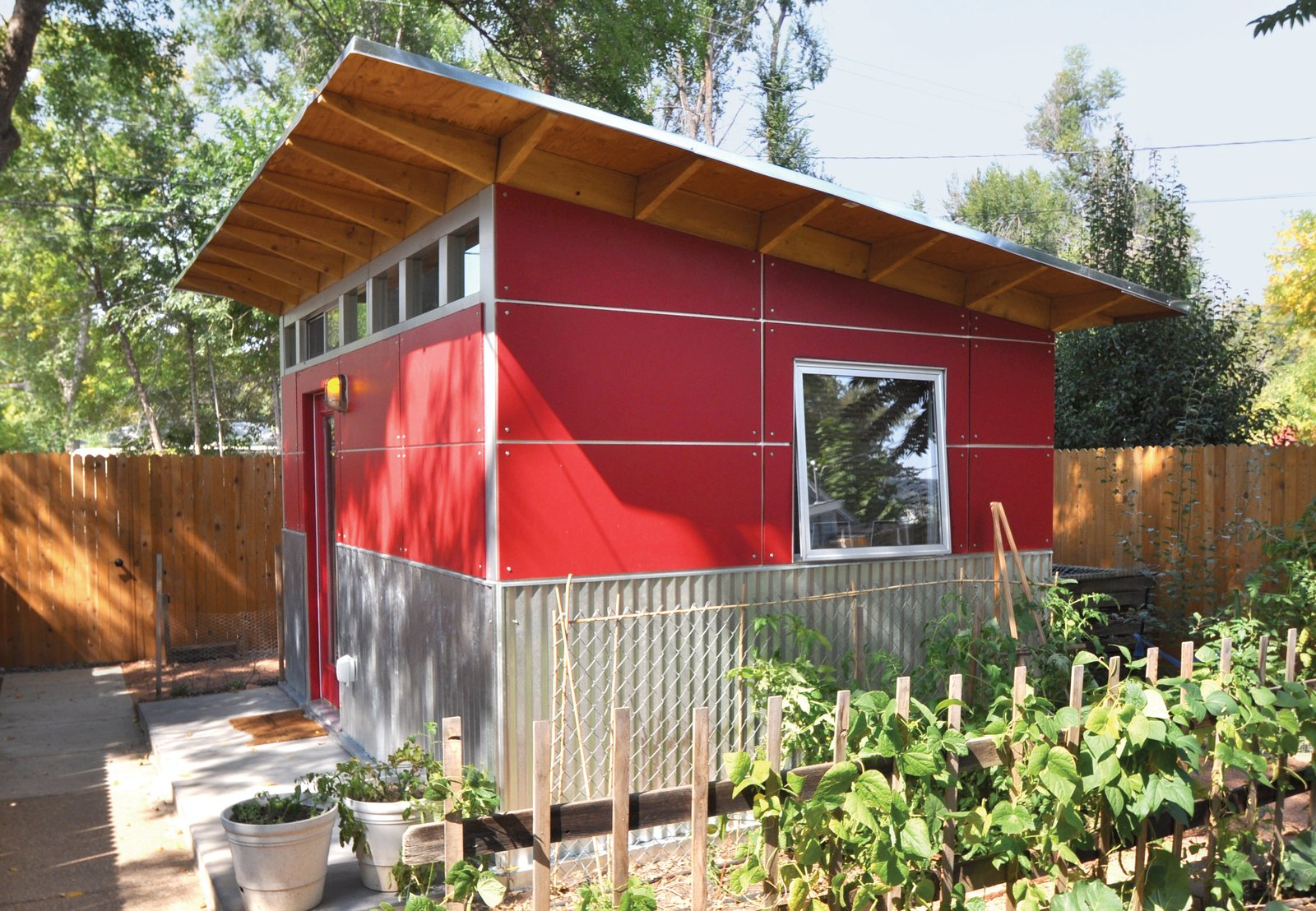 Shed & Studio #chickencoop #gardenshed #modernshed  Photo 7 of 11 in 11 Extraordinary Designs That Make You Rethink the Modern Shed from Sheds I might build