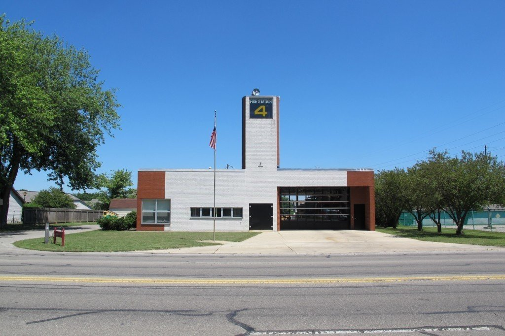 Robert Venturi 1967, Columbus, Indiana  Firehouses