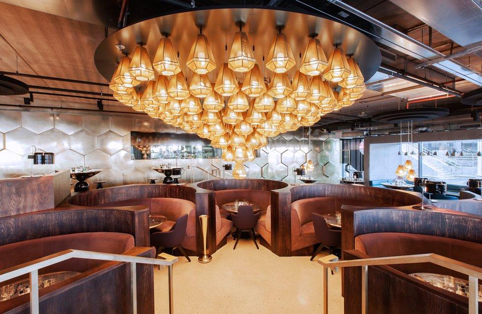 Eclectic restaurant in Paris. Courtesy of Tom Dixon.  Hospitality Favorites
