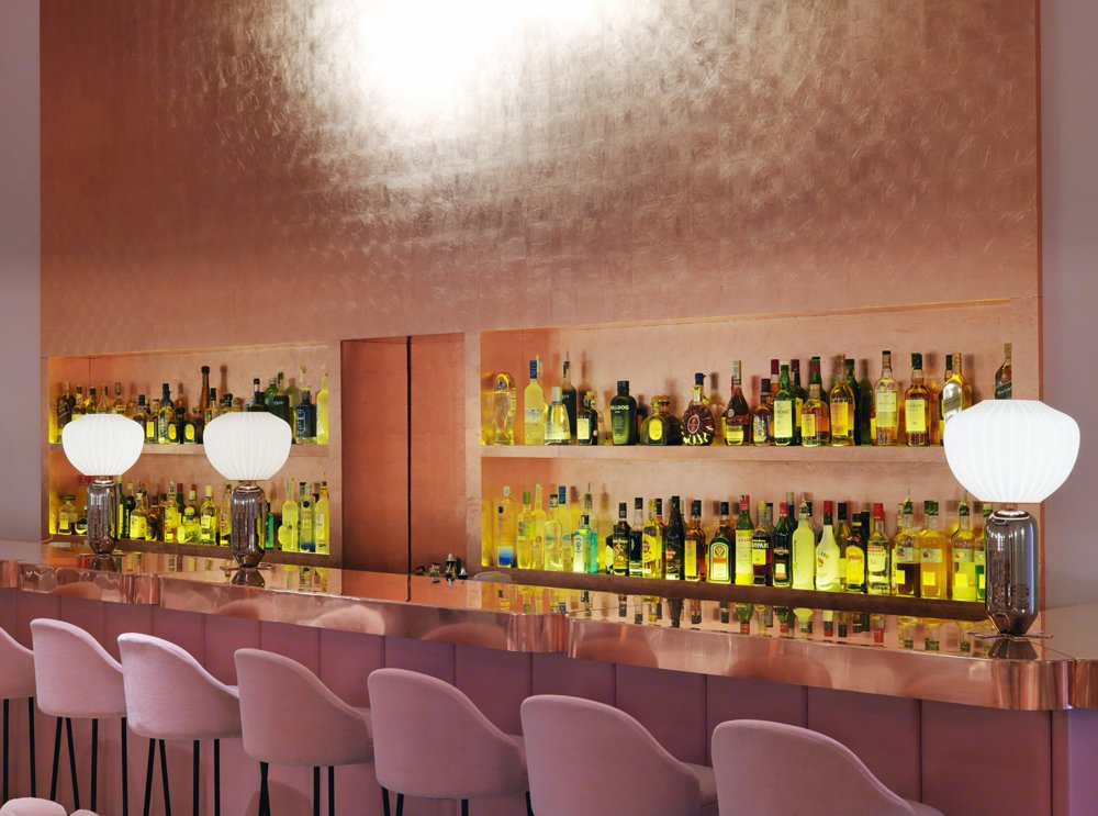 Sketch restaurant in London by India Mahdavi. Courtesy of Sketch.  Hospitality Favorites