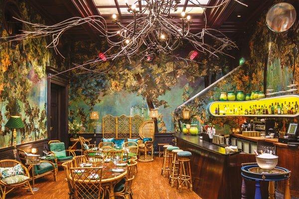 Sketch restaurant in London. Courtesy of Sketch.  Hospitality Favorites