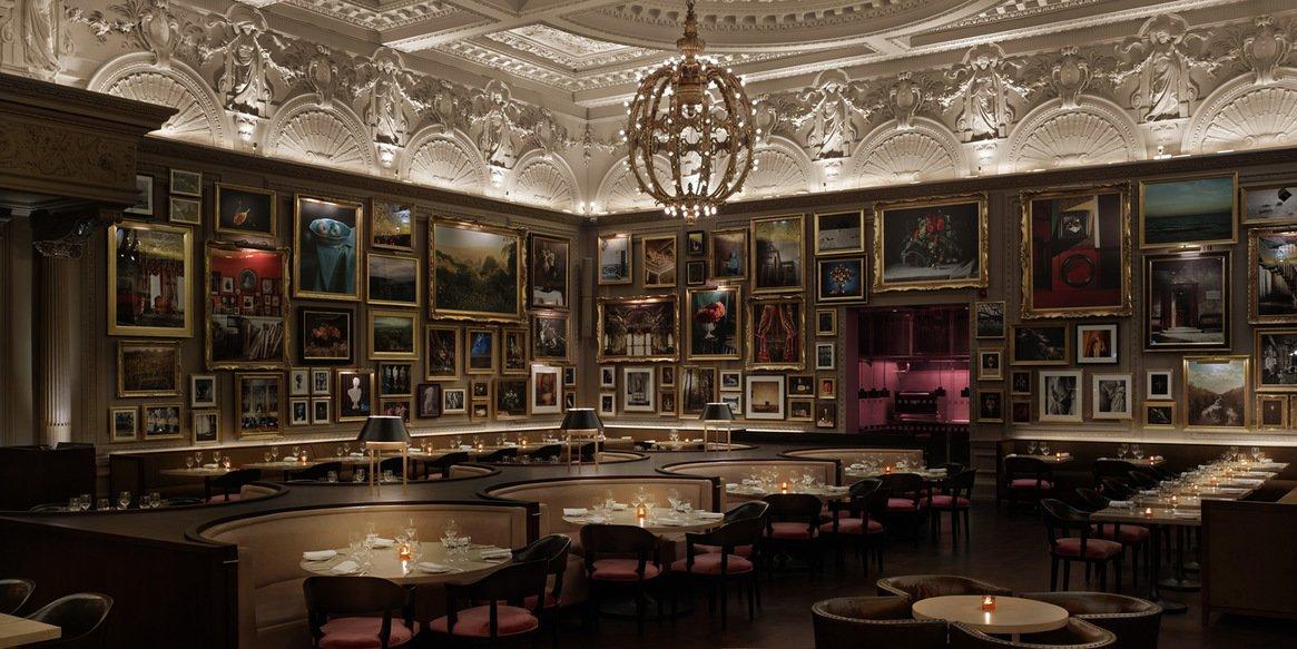 Berners Tavern at the London Edition Hotel by Yabu Pushelberg. Courtesy of the London Edition.  Hospitality Favorites
