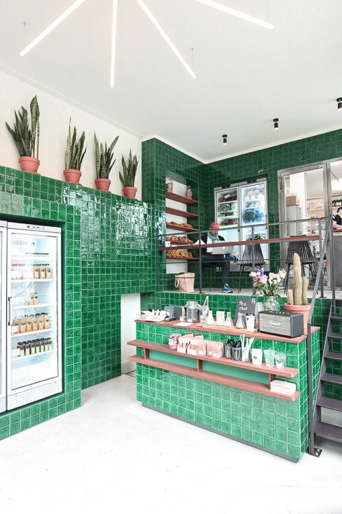 The Cold Pressed Juicery by Standard Studio in Amsterdam, the Netherlands. Courtesy of Standard Studio.  Hospitality Favorites