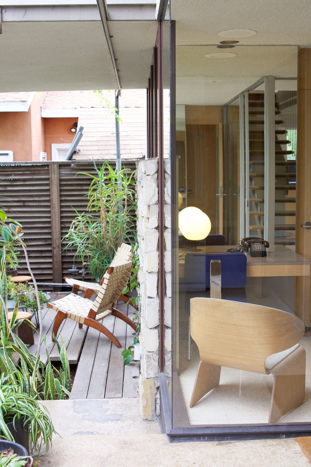Because the residence endured through multiple lives, it portrays three different stages of Neutra's work, each of which is reflected through characteristic details. It's a truly special experience to be able to see the evolution of an architect's work illustrated throughout a living masterpiece.  Photo 6 of 11 in Iconic Perspectives: Richard Neutra's VDL Studio & Residences