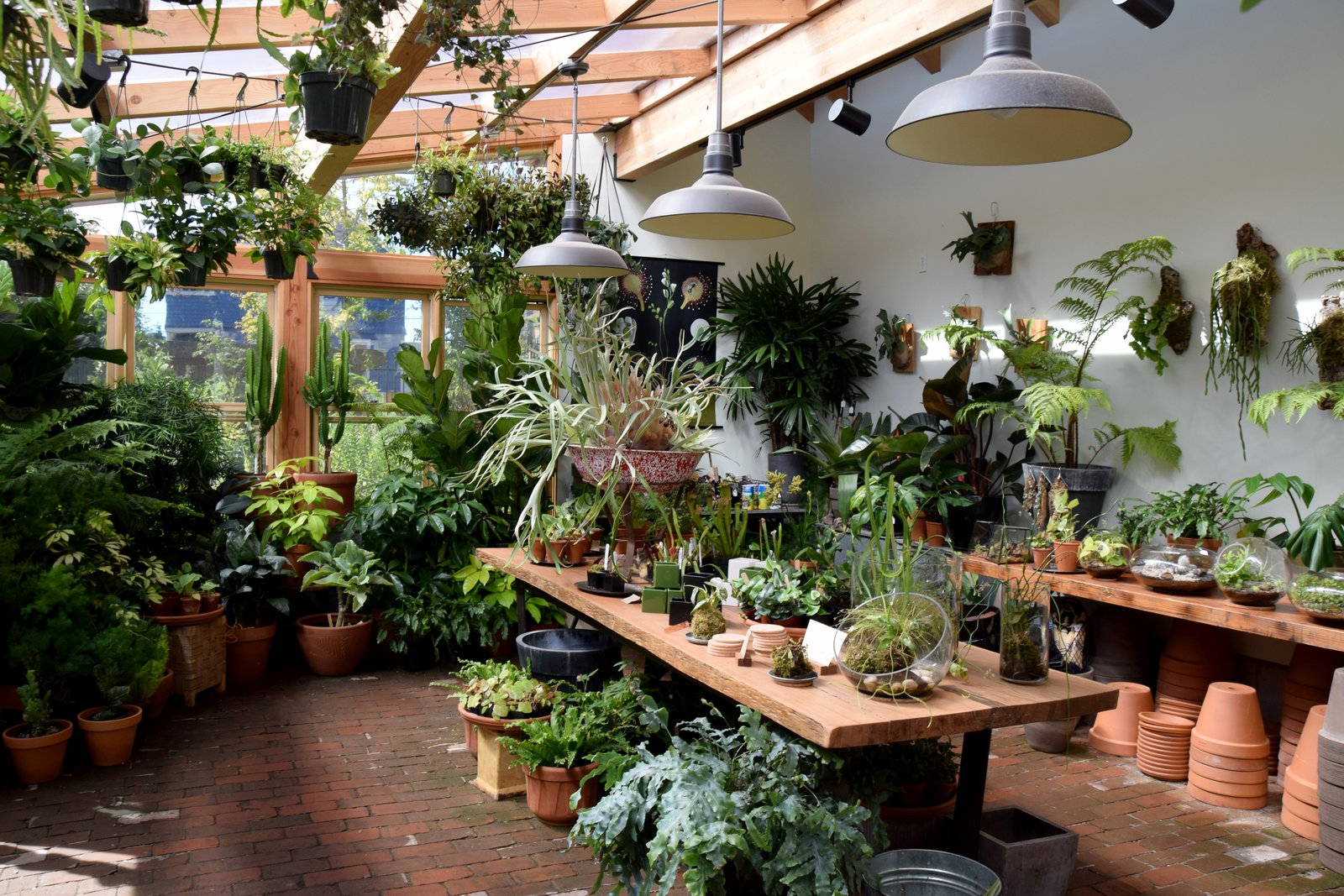 In the sun room, Pistils offers to pot any plant you purchase from them. In the back garden area, you can purchase the perfect plant and meet the chickens that hang out around the on-site chicken coop.  Lush Life from A Weekend in Portland: Part II