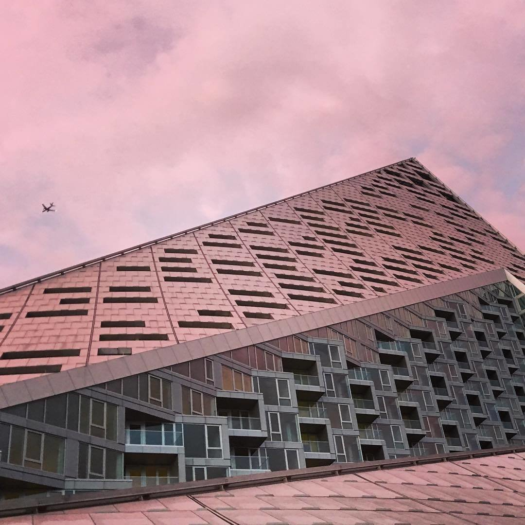 #via57west #manhattanskyline #bjarkeingelsgroup  Photo 2 of 3 in A Pyramid Rises in the Middle of Manhattan