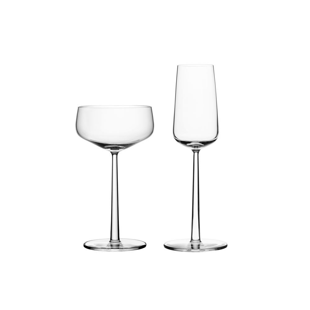 Iittala Essence Champagne Glasses, $40 for a set of 2  Photo 17 of 18 in 16 Modern Entertaining Tools to Use and Give This Holiday Season