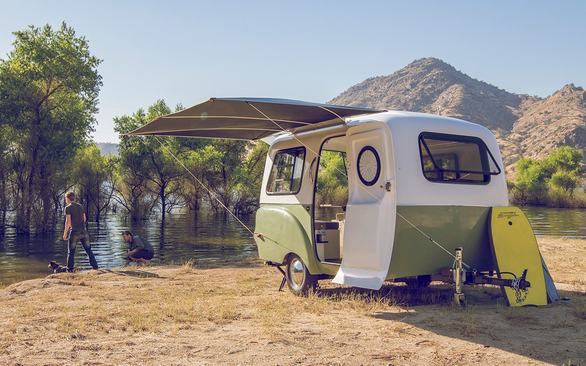 Adventure Ready Trailers by Happier Camper - Dwell