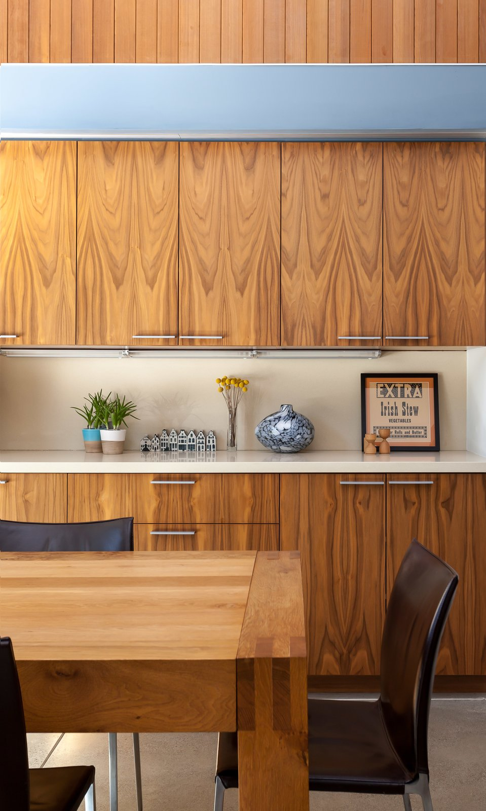 eichler renovation serrao design architecture cabinets dining room