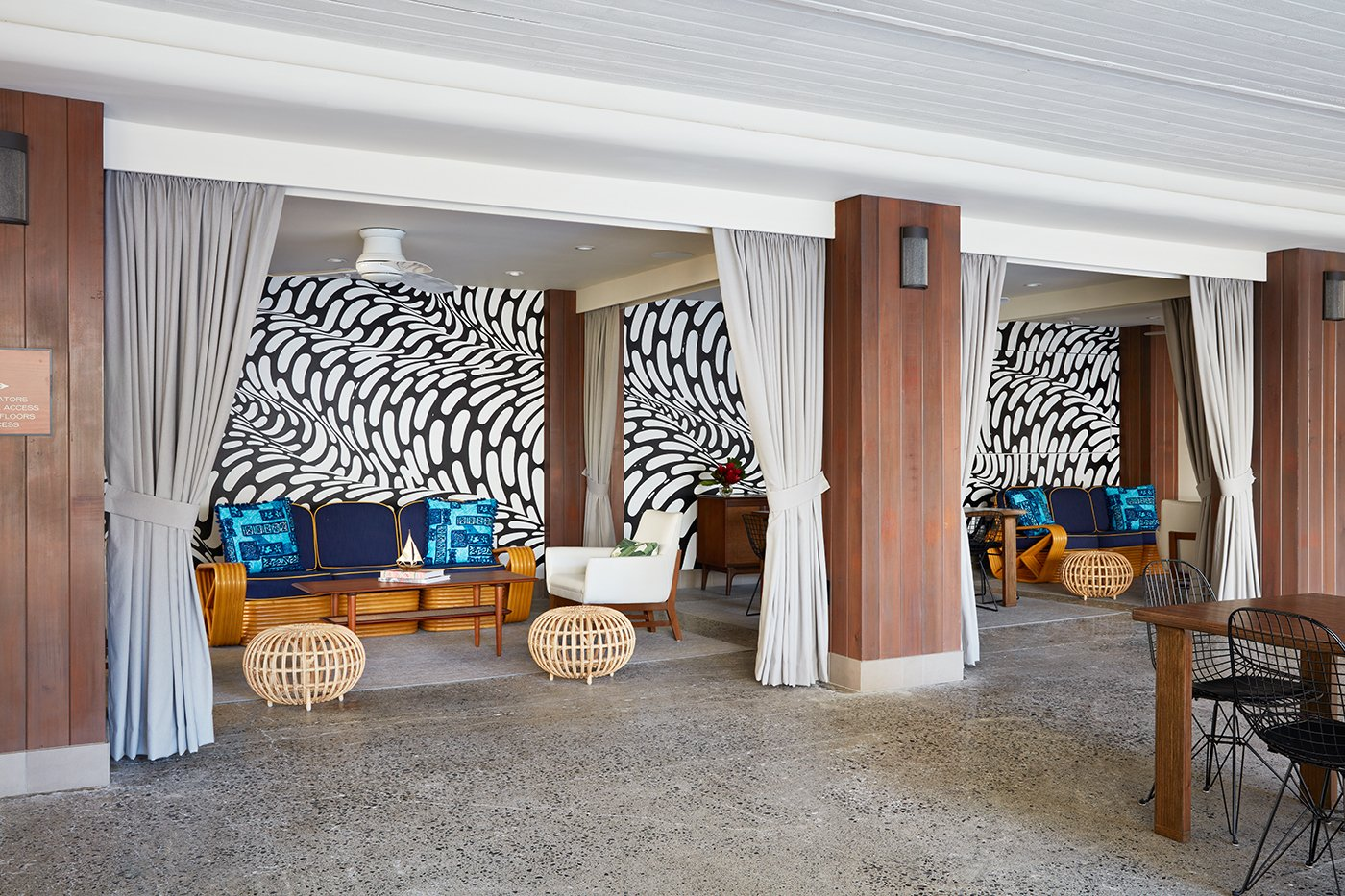 this surf inspired hotel celebrates waikikis creative spirit and its midcentury roots