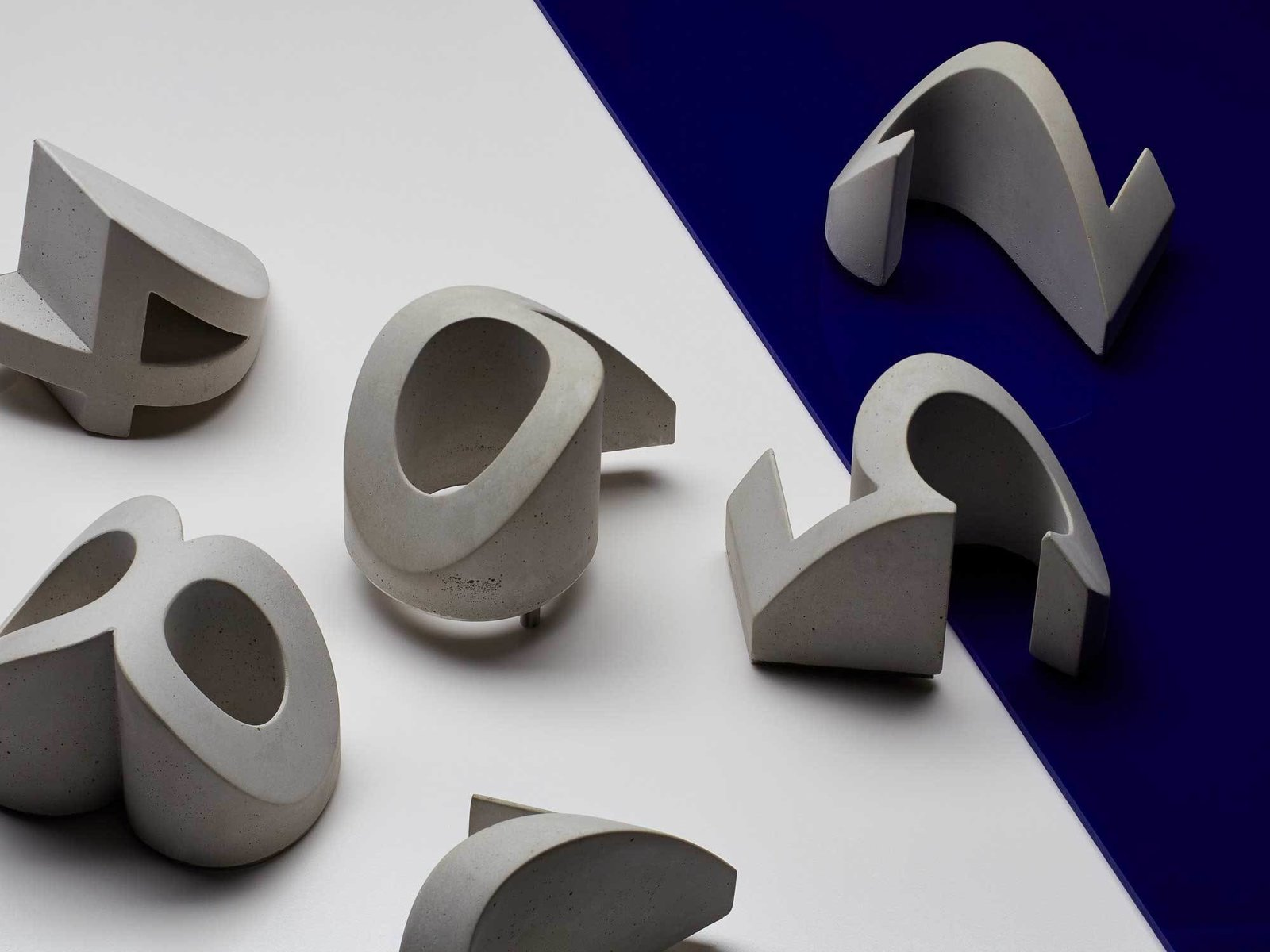 Numeral: Concrete House Numbers by Daast Design  Brutal Beauty