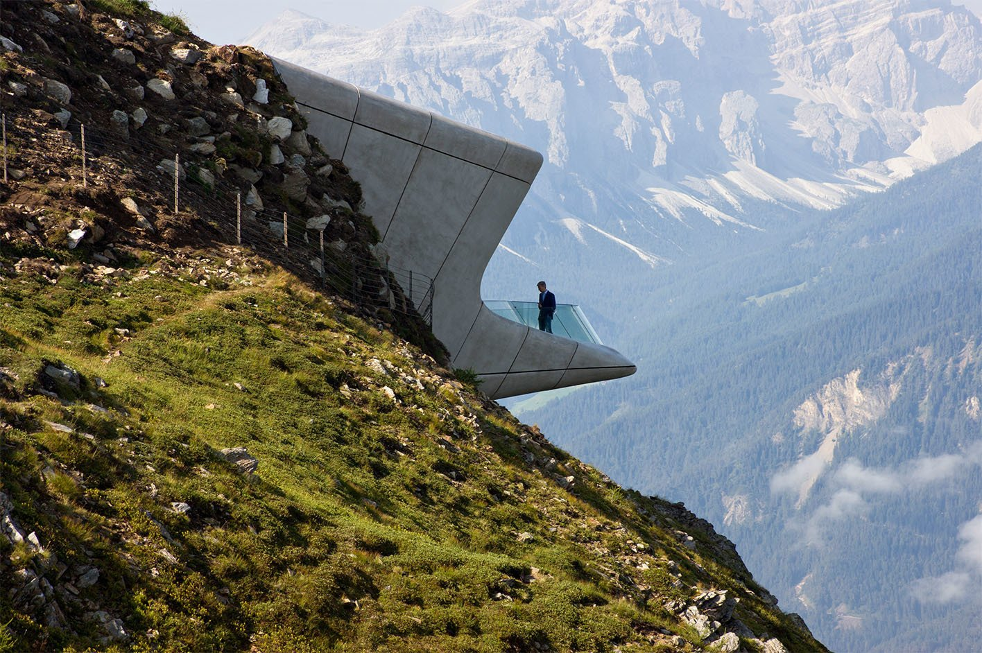 Messner Mountain Museum by Zaha Hadid Architects   Brutal Beauty