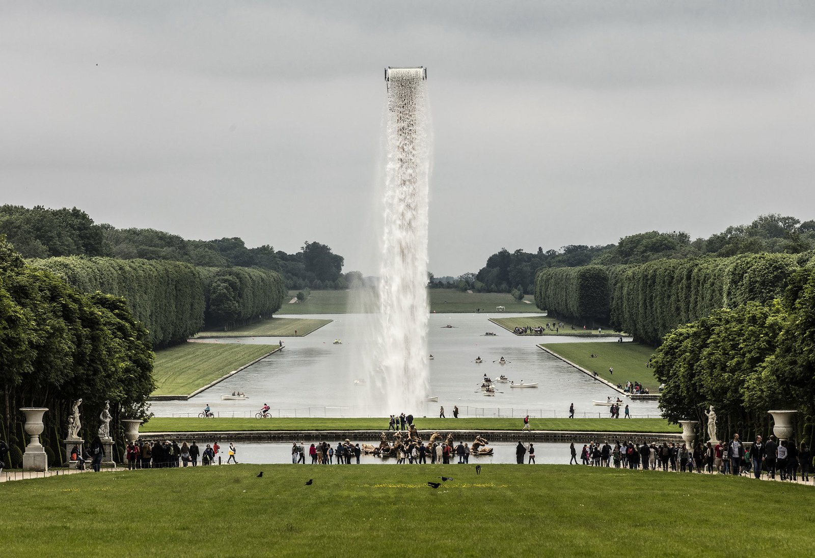 © Anders Sune Berg courtesy of Olafur Eliasson.  Photo 3 of 5 in Olafur Eliasson Gives Versailles a Surreal Aura