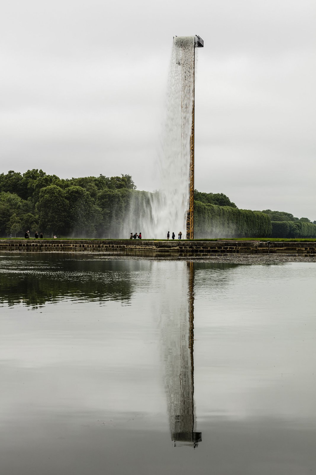 © Anders Sune Berg courtesy of Olafur Eliasson.  Photo 4 of 5 in Olafur Eliasson Gives Versailles a Surreal Aura
