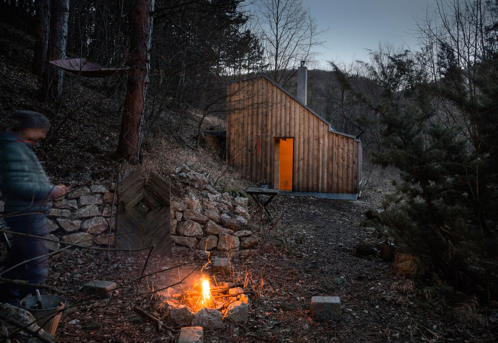 Tom's Hut  Cabin from Small and Quiet