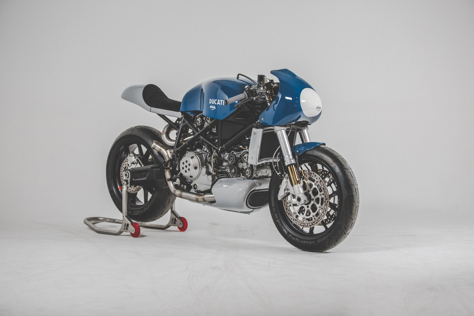 The Ducati 749s Custom Build By deBolex  Bathroom from Two Wheels