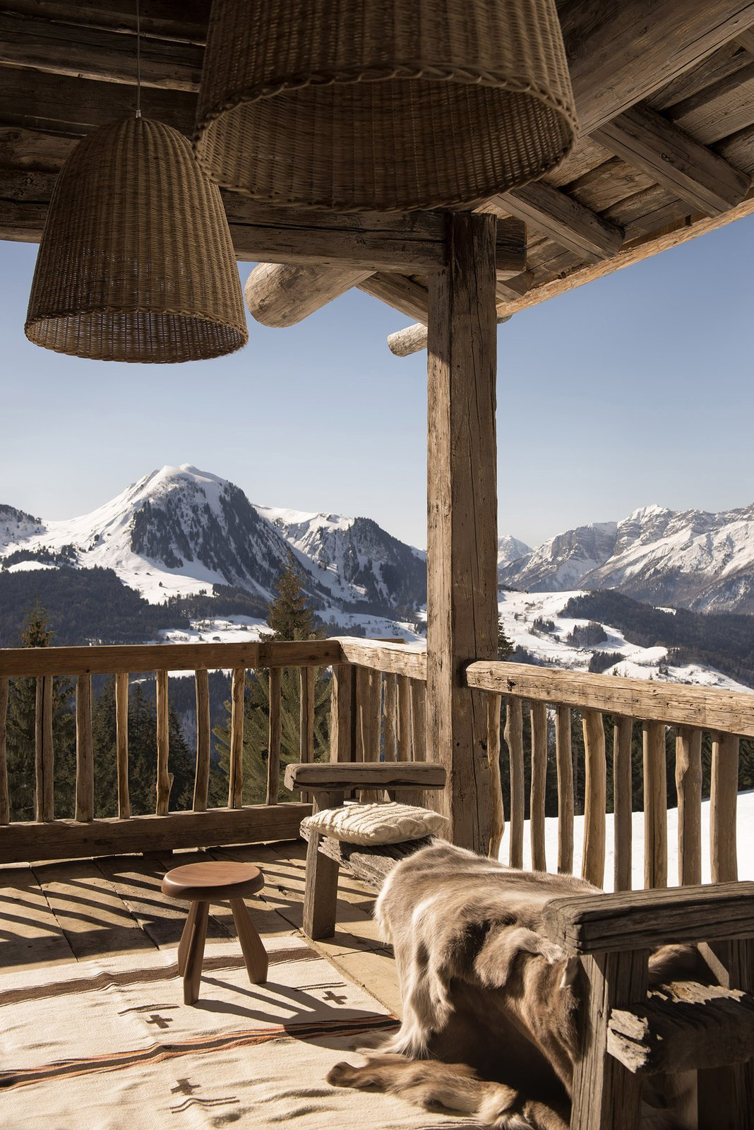 Sylvie Blanchet's Chalet in the French Alps  Modern Winter Retreats from Peak Season