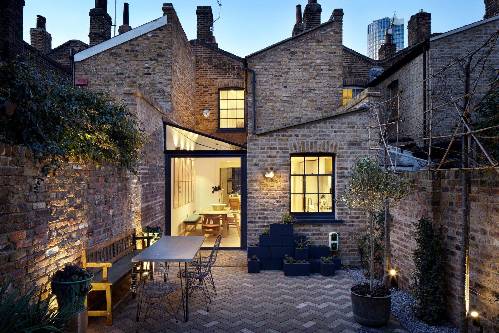 Lambeth Marsh House  Modern Rustic