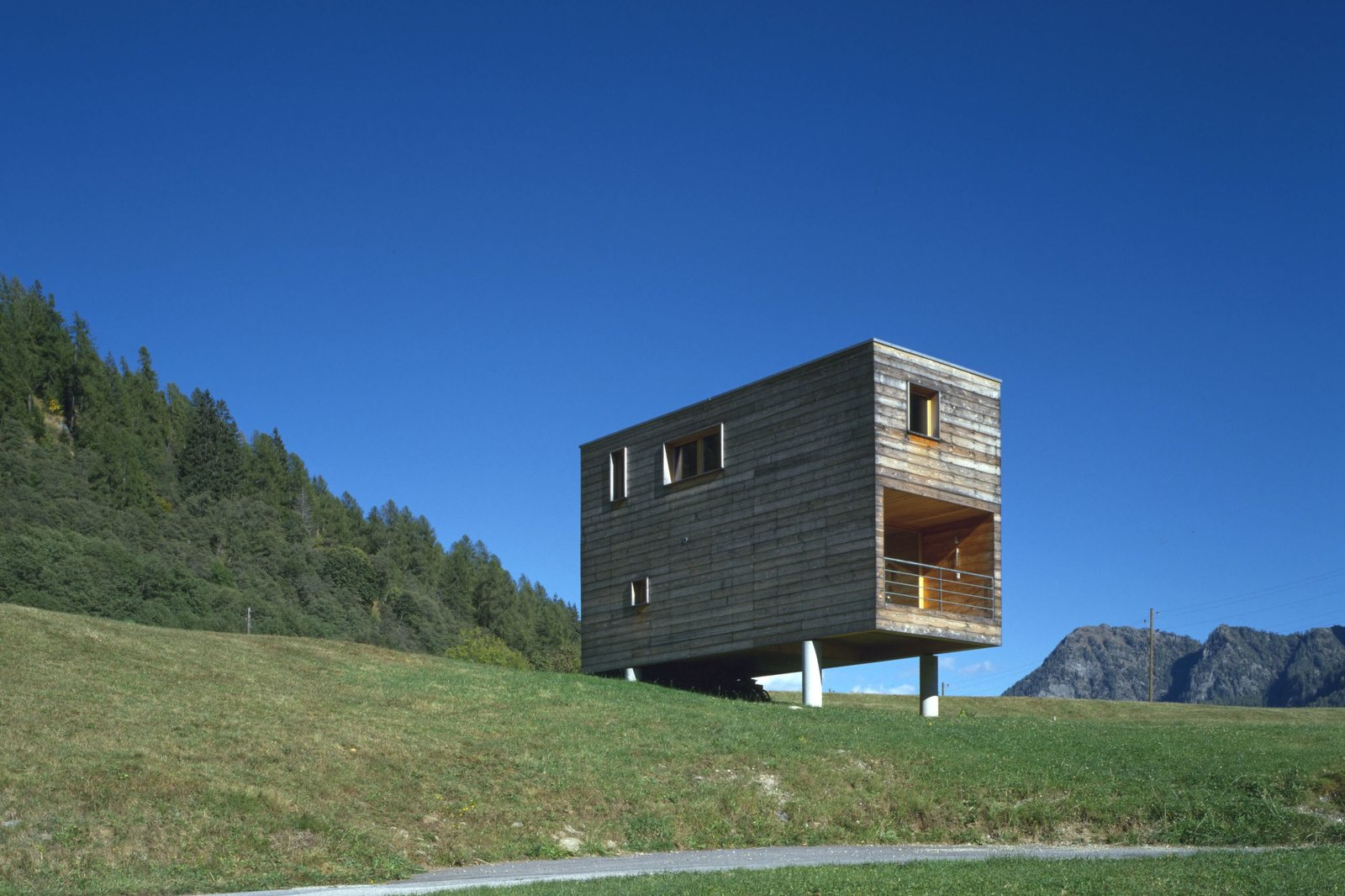 Cottage, Vallemaggia by Roberto Briccola   Off the grid from Small and Quiet
