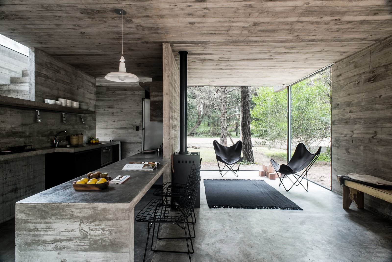 H3 House by Luciano Kruk  Brutal Beauty