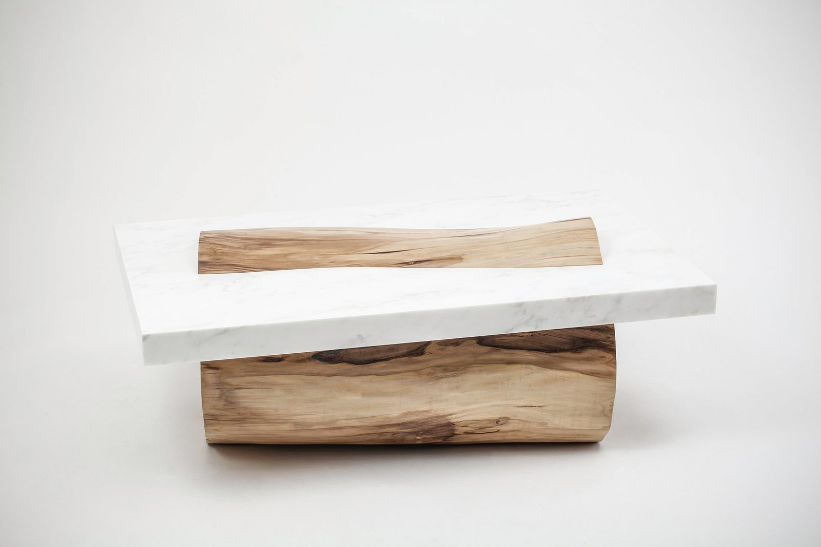 Sculptural Coffee Table By Marc Englander  Modern Rustic