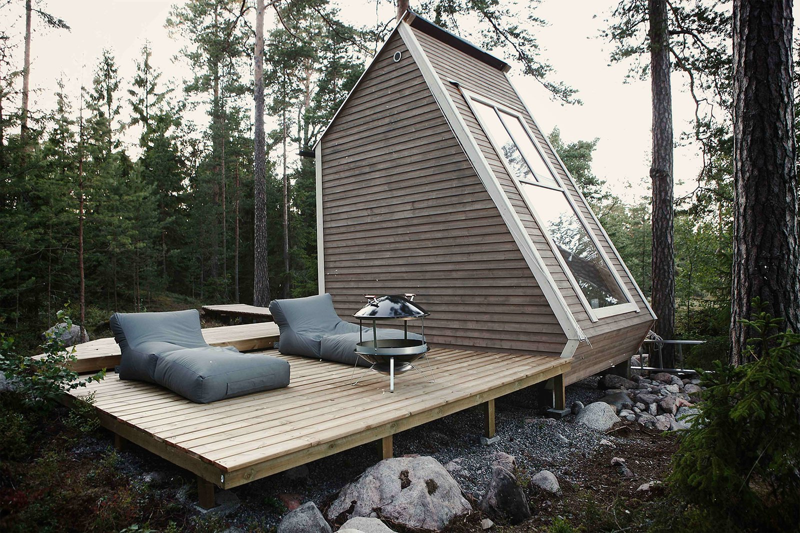 Nido House, Finland  Outdoor Living from Small and Quiet