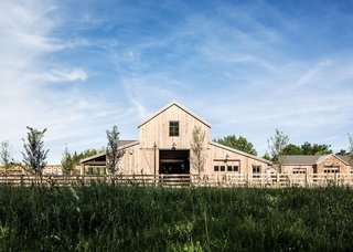 Settled in the late 1800s in Pleasant Grove, Utah, Snuck Farm is still run by the same family but has now transformed from a traditional farmhouse into a community-oriented organization. The farm's mission it to promote a sustainable lifestyle and to produce fresh, organic food that benefits the entire community. Louise Hill of Louise Hill Design collaborated with Lloyd Architects studio to design a new barn which combines public, private and work spaces.