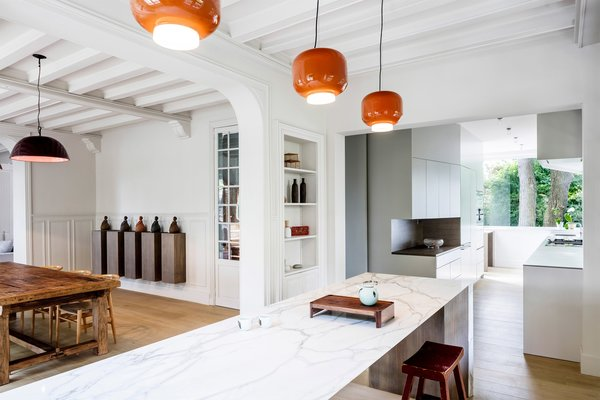 05 AM Arquitectura, 19th-century house in France   Kitchen Love