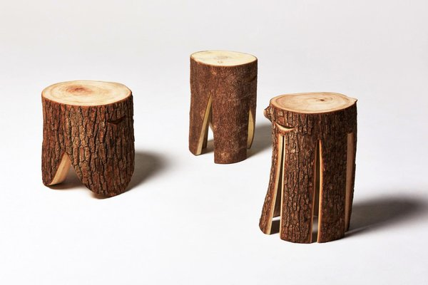 LOG Furniture Series  Modern Rustic