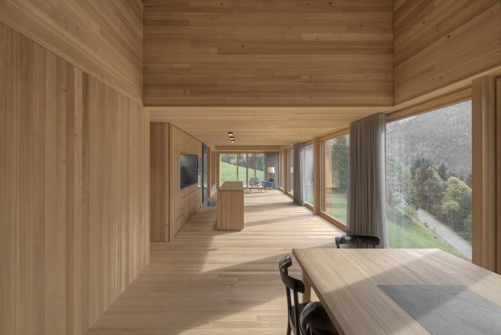Stürcher forest House Bernardo Bader  Modern Rustic