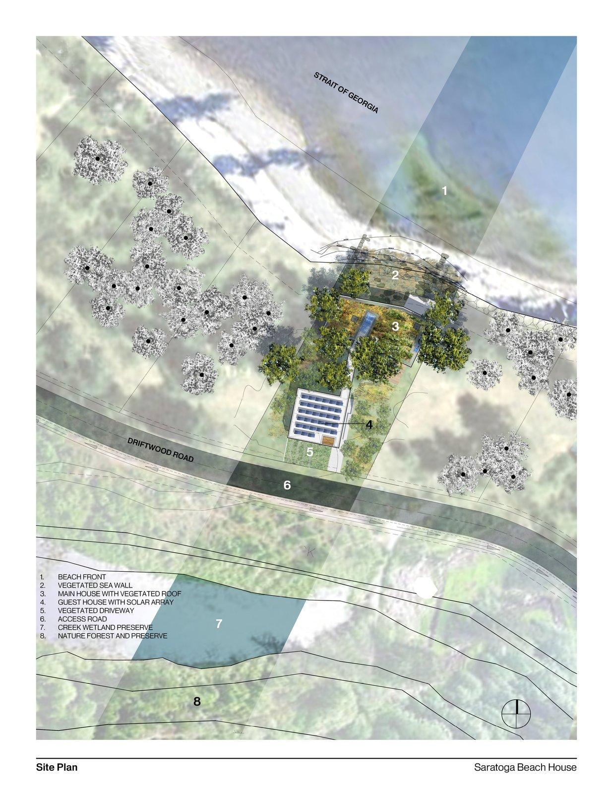 #siteplan #plan #interstice #intersticearchitects   TreeHugger
