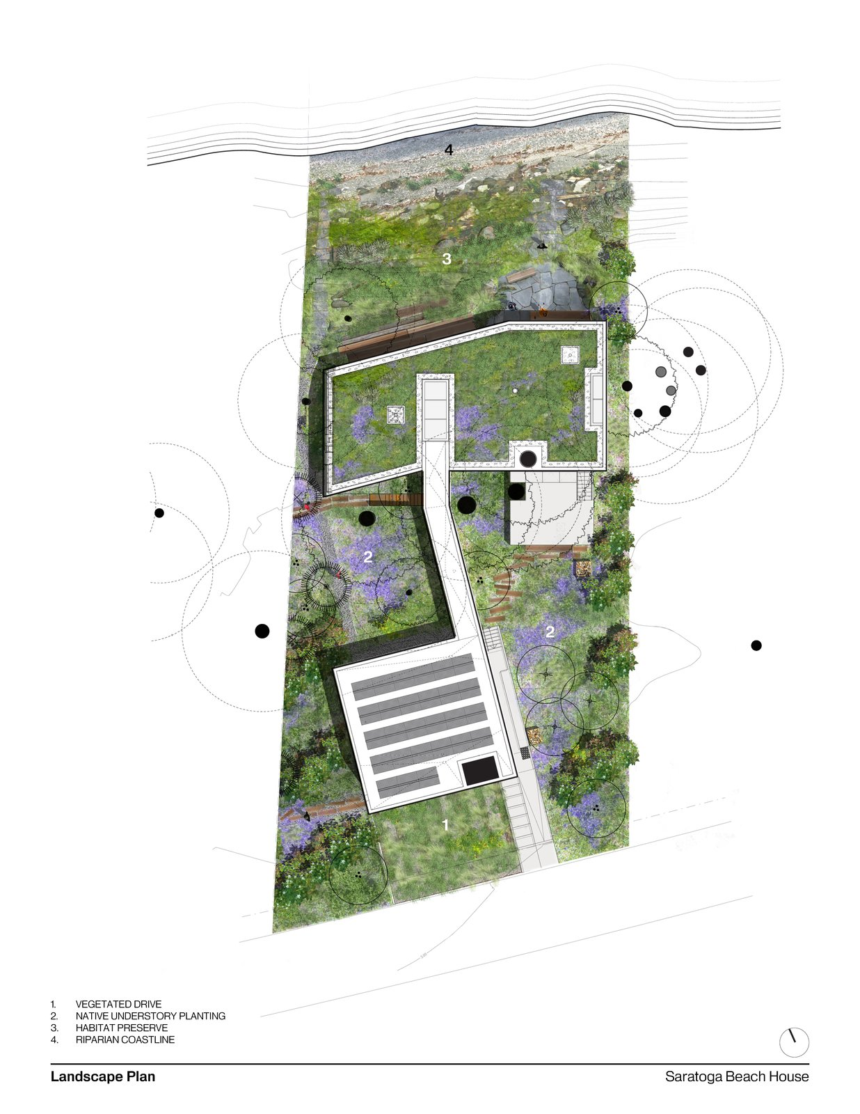 Landcape Plan  #landscape #landscapearchitecture #landscapeplan #intersticearchitects #interstice   TreeHugger
