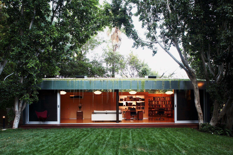 #LushHouse #modern #midcentury #hillside #seclusion #lighting #exterior #outside #landscape #plants #trees #interior #furniture #booskshelves #detail #BeverlyHills #KingsleyStephensonArchitecture  Lush House