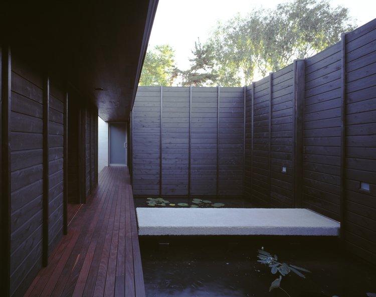 #SebastianMariscal #Carlsbad #California #exterior #landscape #pond  Wabi House