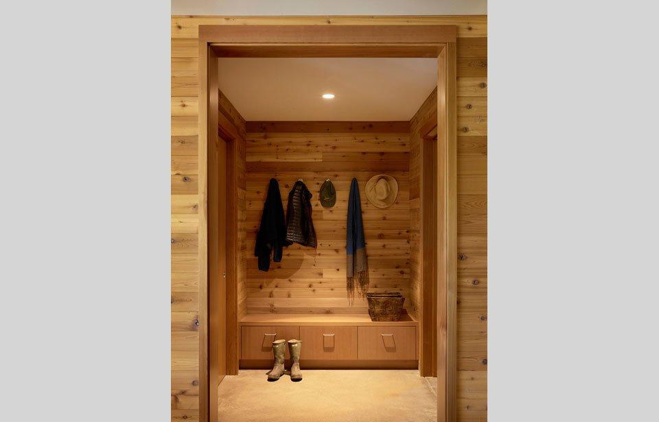 #TurnbullGriffinHaesloop #inside #interior #closet  Cloverdale Residence