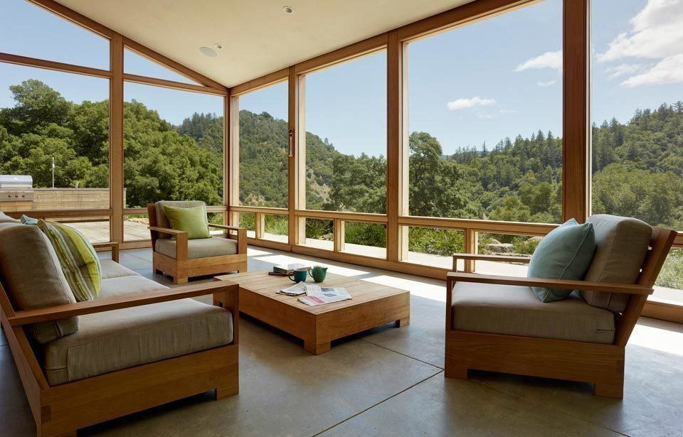 #TurnbullGriffinHaesloop #interior #inside #window #diningroom   Cloverdale Residence