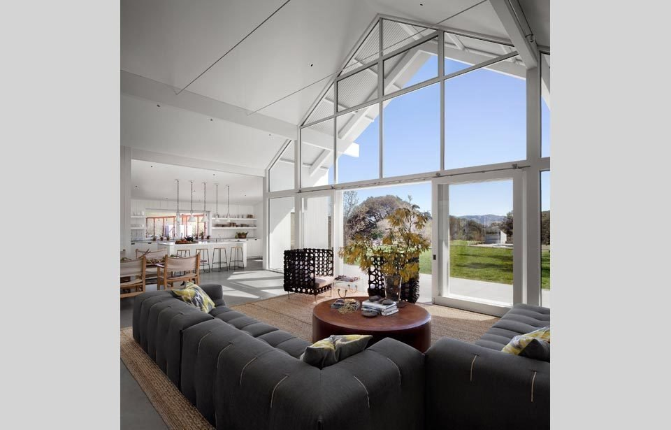 #TurnbullGriffinHaesloop #homestead #inside #indoor #interior #livingroom #couch #window #kitchen  Hupomone Ranch