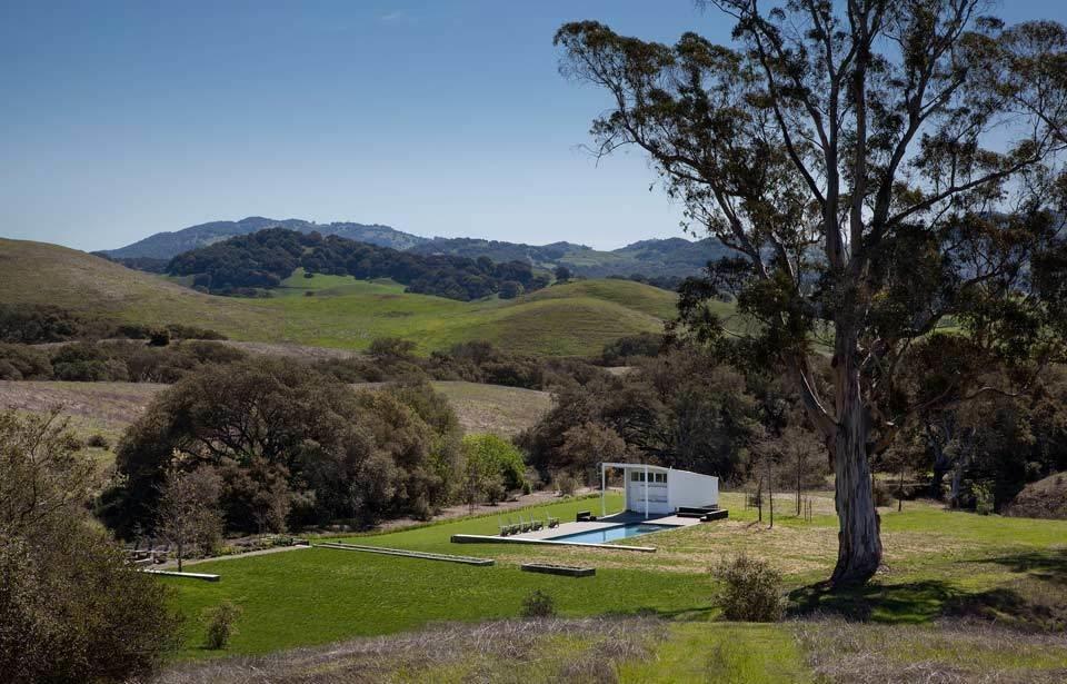 #TurnbullGriffinHaesloop #homestead #outdoor #outside #exterior #landscape #pool  Hupomone Ranch
