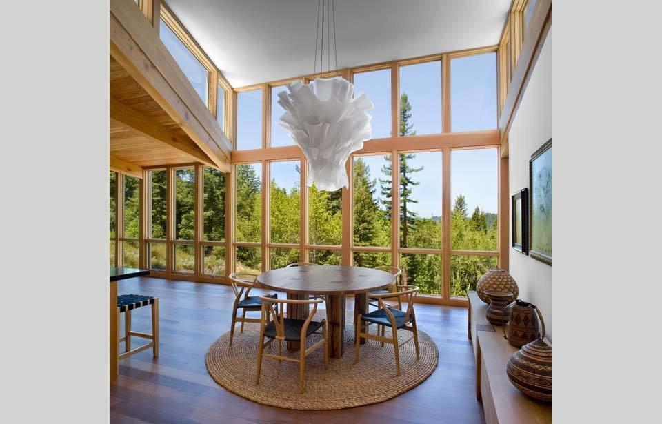 #TurnbullGriffinHaesloop #interior #inside #indoor #diningroom #lighting   Sebastopol Residence