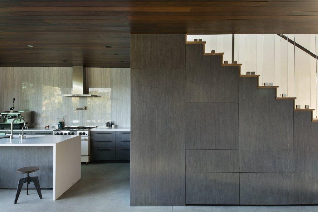 #WalkerWorkshop #inside #interior #indoor #stairs #kitchen  Oak Pass Guest House