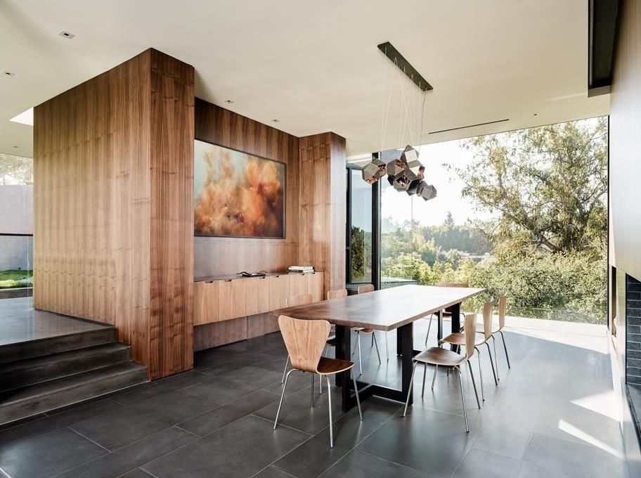 #WalkerWorkshop #interior #inside #indoor #lighting #window #diningroom   Oak Pass Main House