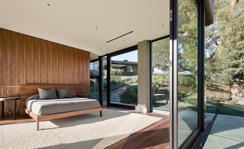 #WalkerWorkshop #interior #inside #indoor #bedroom #window   Oak Pass Main House
