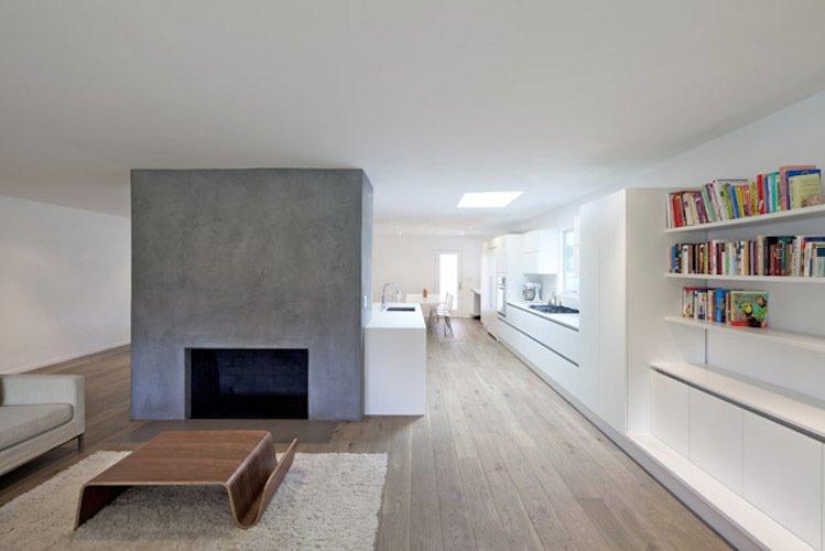 #danbrunn #hayvenhurst #residence #remodel #losangeles #california #windows #fireplace #livingroom #kitchen #woodfloors #interior  Hayvenhurst Remodel