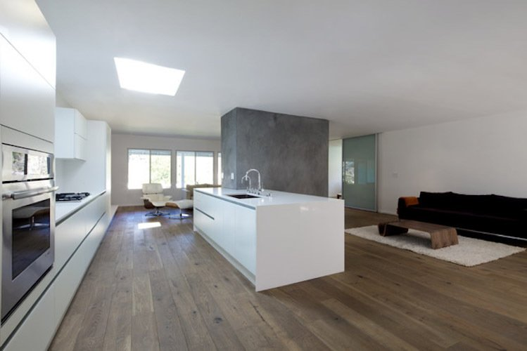 #danbrunn #hayvenhurst #residence #remodel #losangeles #california #glass #windows #kitchen #livingroom #interior  Hayvenhurst Remodel